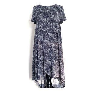 LuLaRoe Medium Carly hi-low dress w/ front pocket